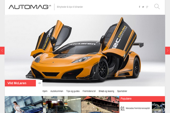 AUTOMAG.DK – Univers for bilentusiaster